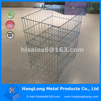 Adjustable Shelf cage metal bin storage container