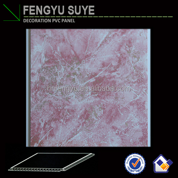 250*7mm Hot Stamping Artistic PVC Ceiling Panel Designs PVC Panel China Supplier