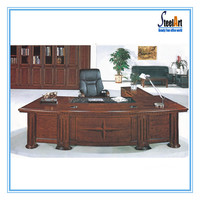 Modern high quality wooden L shape CEO office executive desk (FEC2815)