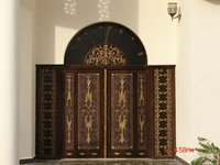 Cast Aluminum Entrance Door