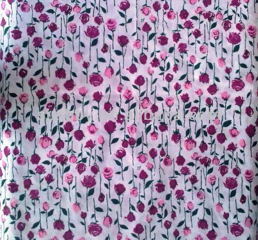 unusual width printed bedding fabric