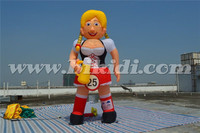 Inflatable Holland bar girl balloon, Holland character cartoon/ doll K9046