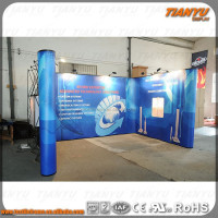 high quality promotional portable light weight pop up stand
