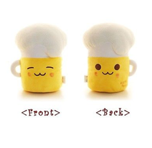 Beer Food Cotton Plush Doll Toy