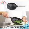 Wholesale Heat Resistant Large Nylon Frying Strainer Scoop Vegetable Pasta Colander Kitchen Cooking Tool
