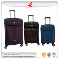 New arrival fashion design cheap trolley suitcase luggage set