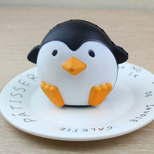 Made in China 3D Penguin Cute wet soft slow rebound toy