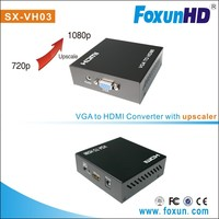 Shunxun Newest analog VGA video & audio to HDMI converter with the upscale 720p or 1080p