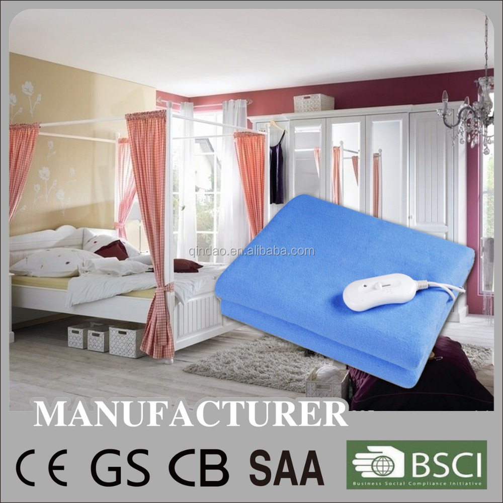 BSCI/CE/GS/CB Approval Electric Blanket/Heating Blanket/Bed Warmer