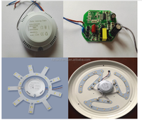 ac input high power output relay control microwave motion sensor module for led light control