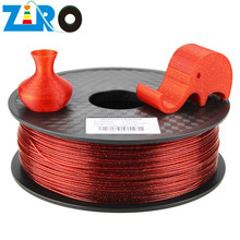 ZIRO Shenzhen Manufacture Direct Sale Biodegradable Twinkling filament for FDM 3D Printing Plastic Material