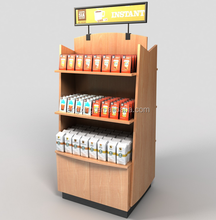 Retail High Quality Coffee Display Stand For Cafe Retail Promotion