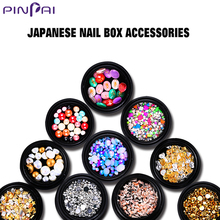 Pinpai brand fashionable mix designs Japanese 3d nail art decoration