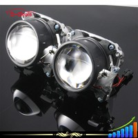 B-deals 2.8 inch H4 hid projector lens kits with 83mm ccfl angel eyes