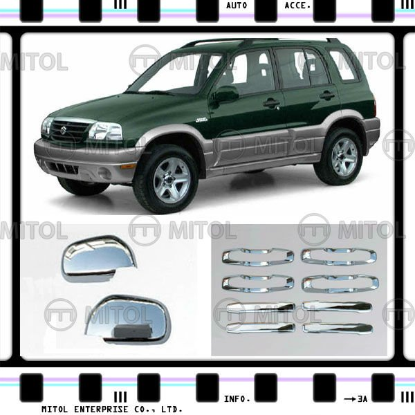 Chrome Accessory Handle Cover For Suzuki GRNAD VITARA 00-05, Auto Accessory