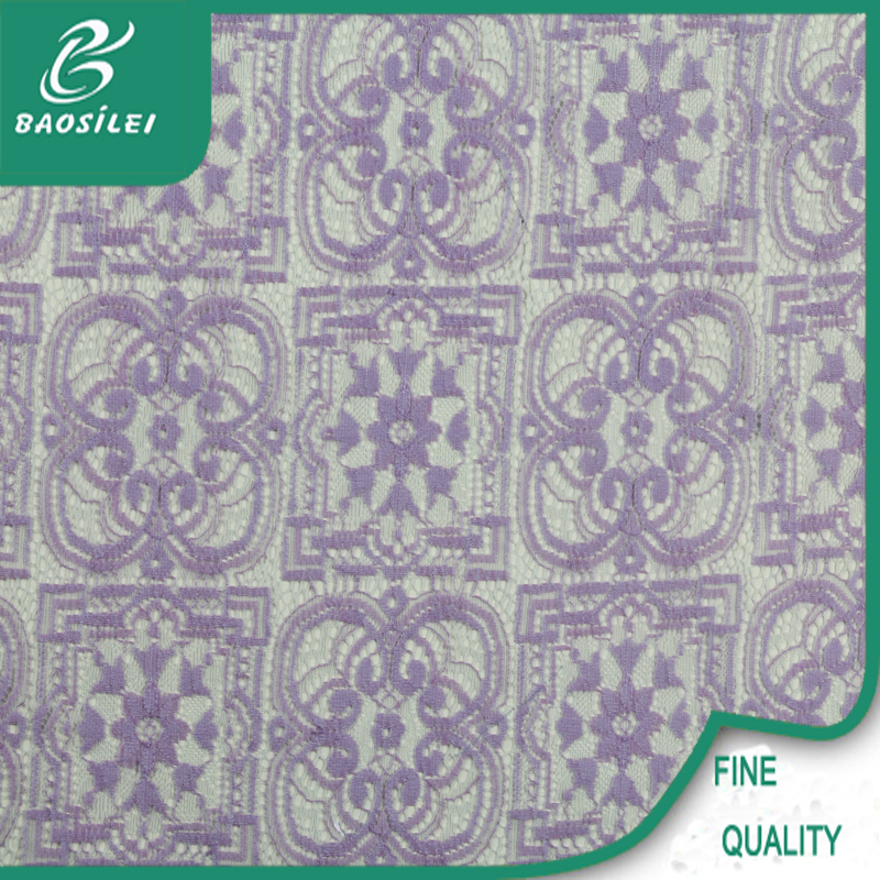 top one Wholesale indian net lace fabric/jacquard lace fabric/vintage lace fabric garment