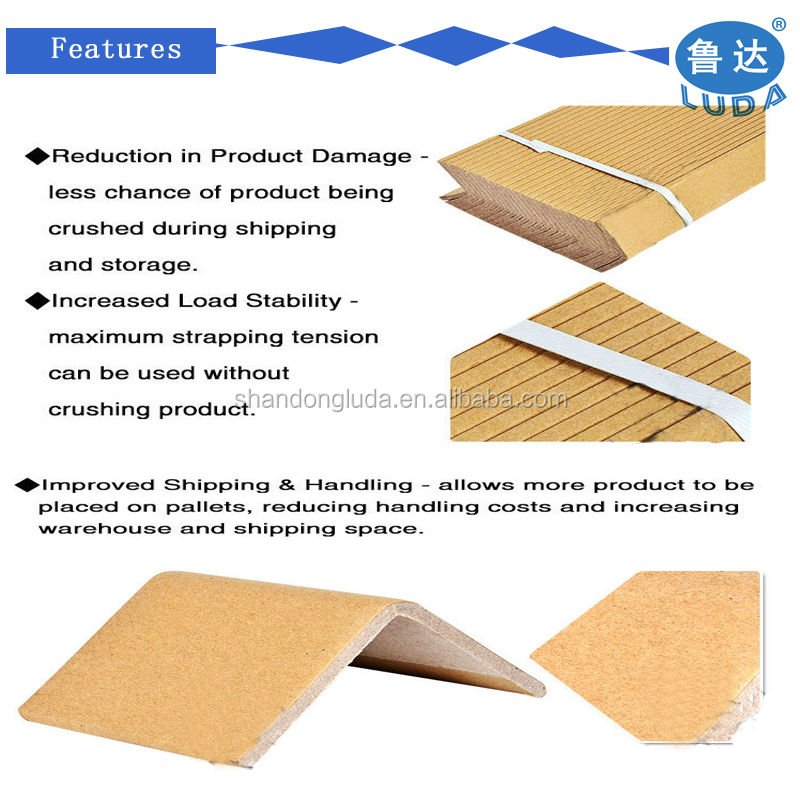 Shandong 40*40*4MM L-type corrugated protection angle