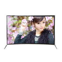 Famous brand 49 55 65 inch led tv curved panel for uhd 4k smart led tv