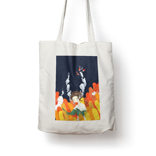 Factory Direct Sales Standard Size Customized Canvas Tote Bag Canvas Bag