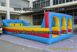 Party inflatable sport games, bungee run, inflatables for adults SP-SP009
