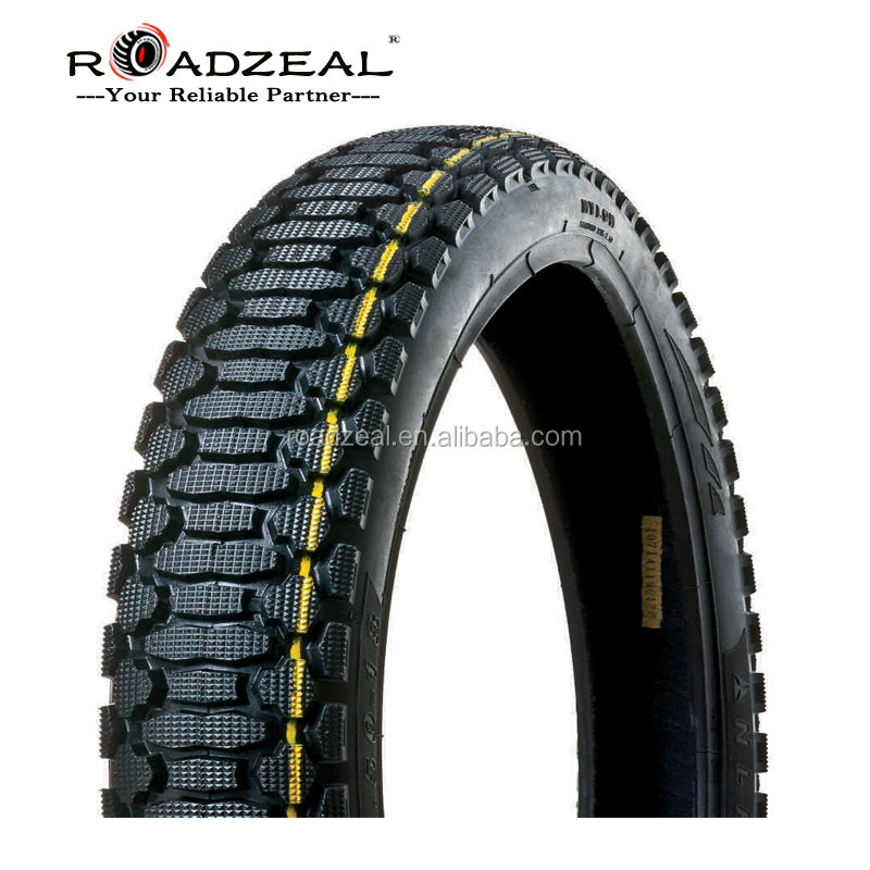 China famous factory brand good quality cheap motorcycle tyre size 2.75-18