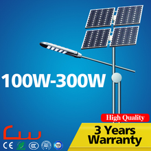 130lm chips 150W mono panel OEM LED solar street Light
