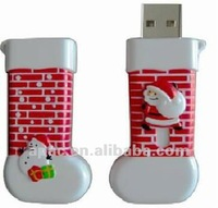 Hot 2015 popular pen usb drive for christmas gifts for kids different shape usb pen drives