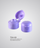 24/410 round flip top cap soap bottle cap good quality plastic cap