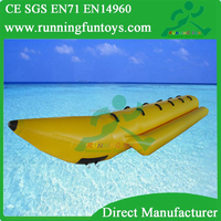 Water Sport Inflatable Banana Boat Water Tube, Inflatable Flying Banana Boat For Sale