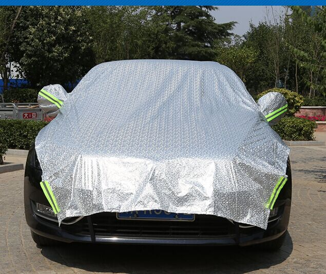 Strong and durable PEVA car sunproof cover, auto sunscreen cover UV protection car cover