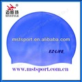 Promotional silicone swimming caps for adults