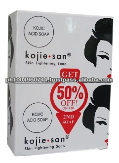 50 pieces Kojie San Kojic Acid Whitening Lightening Soap Big