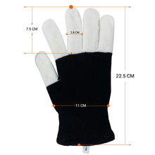 Glow In The Dark Led Skeleton Gloves Led Gloves Black