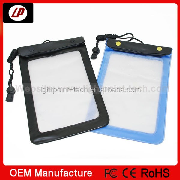 for ipad Plastic waterproof bags swimming bags in stock