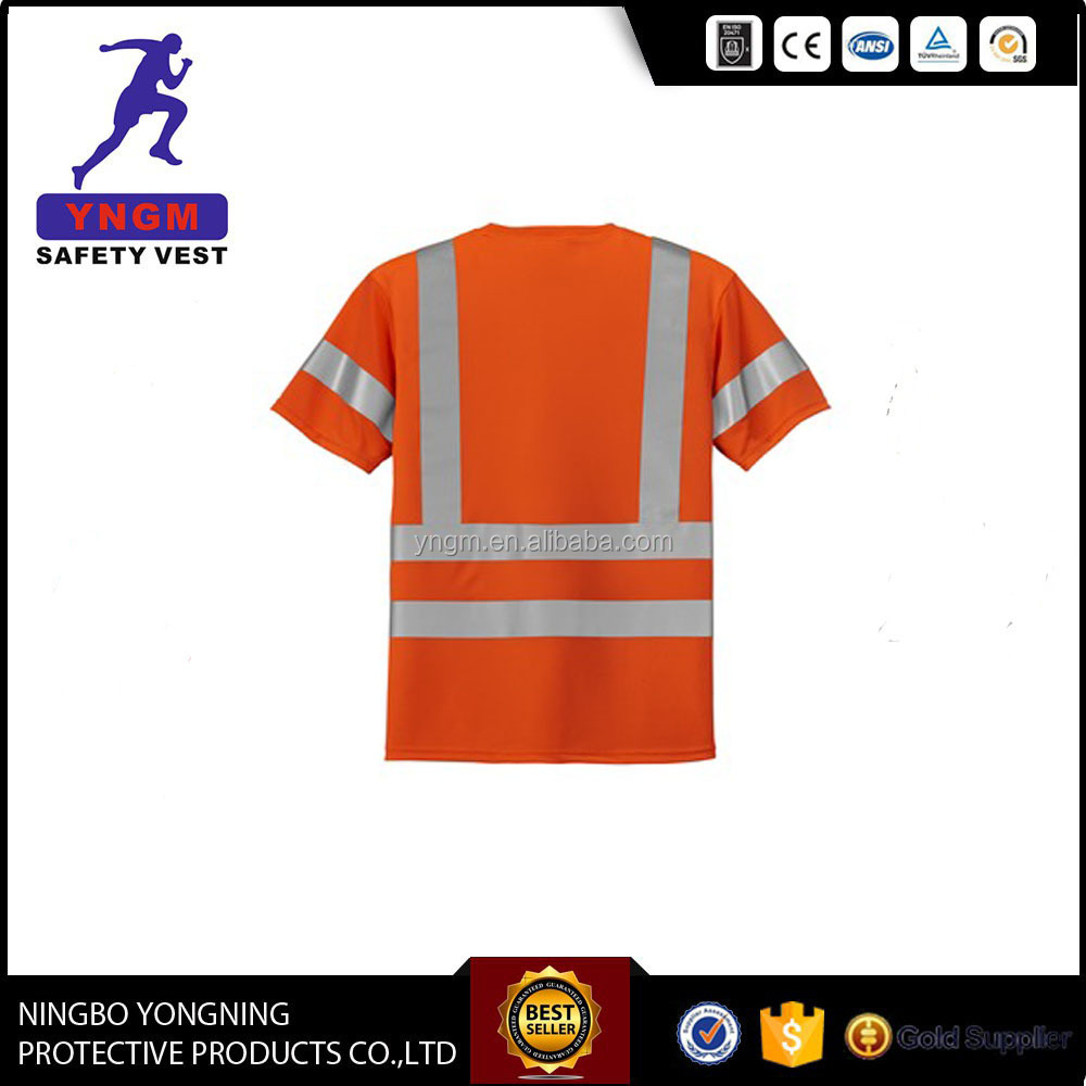 EN 20471 Reflective high visibility clothing With 3M reflective tape