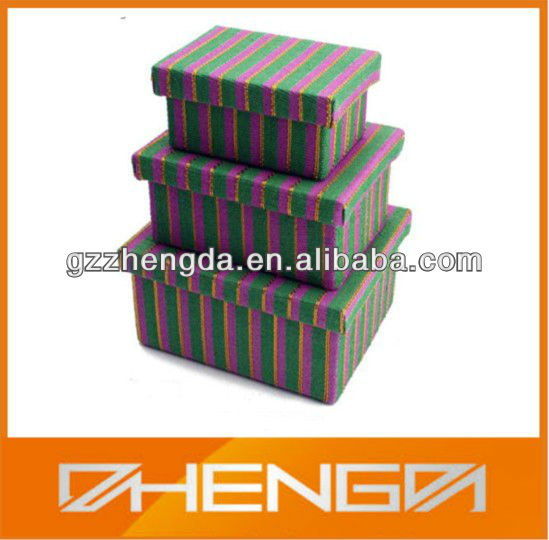 High Quality Custom Made-In-China Christmas Gift Boxes 3 IN 1 (ZDSJ-J221)