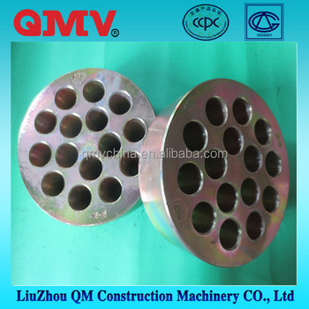 Round multiporous common PC strand of prestressed anchorage