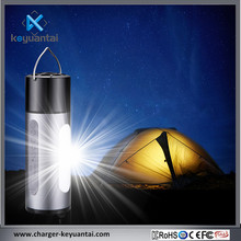Promotional Wireless 5200mAh Flashlight Torch Charger Black Bluetooth Speaker Waterproof
