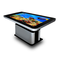 "2017 ! New! 55"" Big Screen IR Infrared Touch Screen LCD Android interactive touch table"