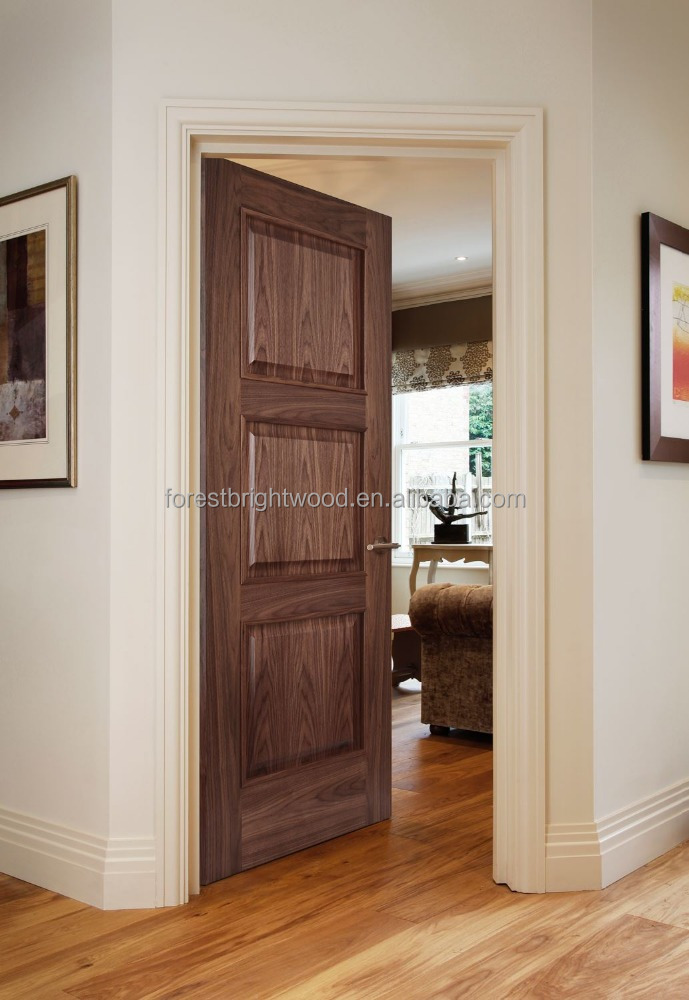 Forest Bright 3 Panel Interior Solid Wood Classic Door Price Buy Classic Door Price Product On