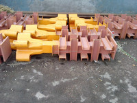 liebherr type tower crane spare part fixing angle