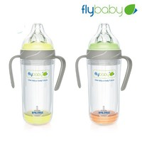 flybaby 8 oz double wall glass baby bottle wholesale