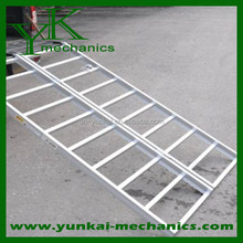 Aluminum truck loading ramps mobile ramps car trailer ramps