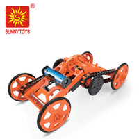 innovative funny plastic block toys 4wd climber model intelligent diy car for sale