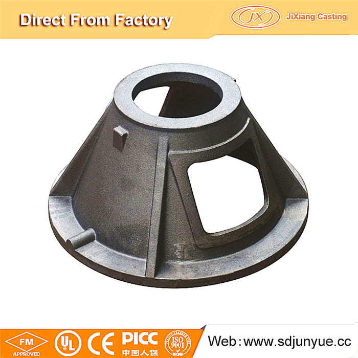 China foundry sand cast product for machinery part