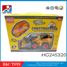 New product 5 channel radio control super power construction truck for sale HC245320
