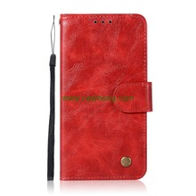 Retro Business Flip Wallet Card Slot folio Leather Case For Samsung Galaxy S9 Plus