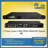 DVB-T2 Tuner HD IRD/ Demodulation + Descrambler +Re-mux Decoder