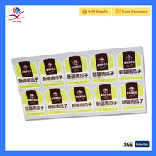 a4 waterproof sticker paper food grade label printing