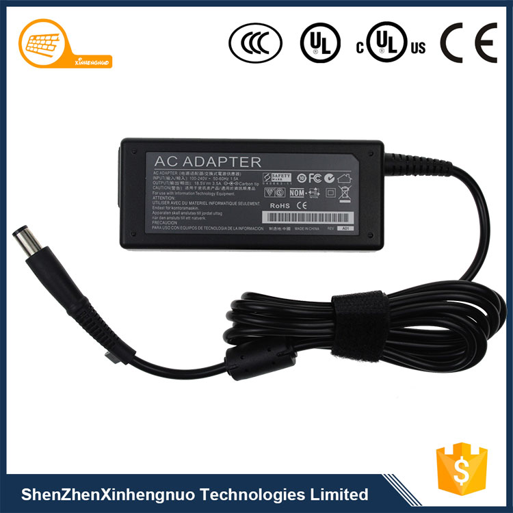 Top Selling Products network ac adapter driver 65W 18.5V 3.5A for hp laptop